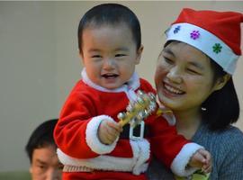 萌动圣诞,看我们小小圣诞宝宝们的疯狂!