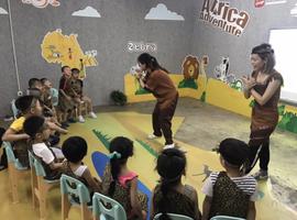 暑期体验营—小小英文体验师非洲大冒险
