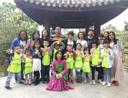 3月妈网带你游广州—海珠湖造花草纸