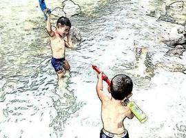 原来玩水也可以这么玩!