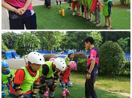 暑期运动训练营第1场 小小轮滑员